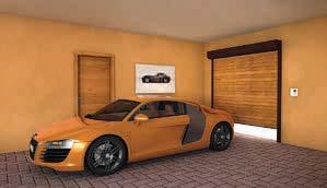 Rolo garažna vrata Lomax