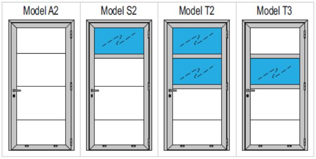 Modeli dvokrilnih vrat